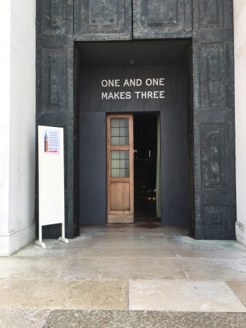 171010 Biennale 61 Pistoletto at S Giorgio Maggiore for web