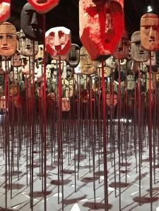 171012 Biennale 80 Chile Bernardo Oyarzún and Ticio Escobar Werken for web